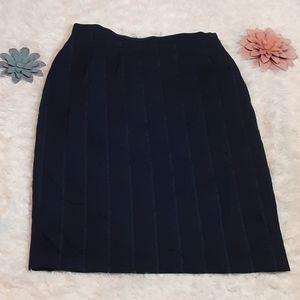 Giorgio Armani Pinstripe suit skirt